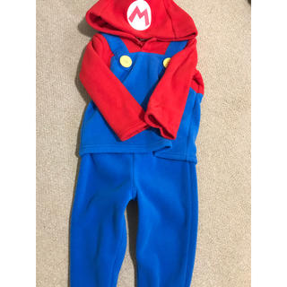 ニンテンドウ(任天堂)のスーパーマリオ 仮装(ジャケット/上着)