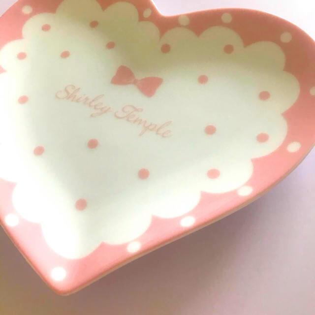 Shirley Temple(シャーリーテンプル)のシャーリーテンプル ノベルティ 新宿伊勢丹 ハートプレート エンタメ/ホビーのコレクション(ノベルティグッズ)の商品写真
