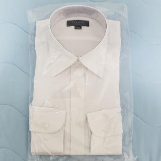 タカキュー(TAKA-Q)の新品未使用 スリムフィット タカキュー M-84cm 形態安定加工 ホワイト(シャツ)