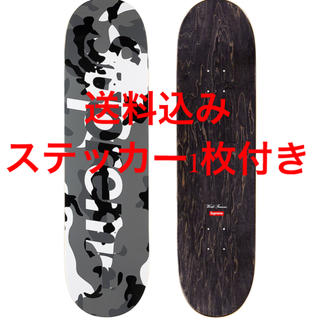 シュプリーム(Supreme)のsupreme camo logo skateboard グレー(スケートボード)