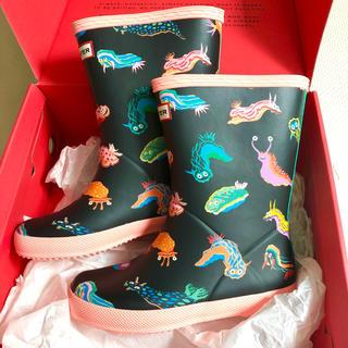 ハンター(HUNTER)の♡ハンター♡新品♡レインシューズ♡17cm(長靴/レインシューズ)