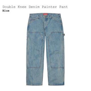 シュプリーム(Supreme)の【30】Supreme Double Knee Painter Pant 青(ペインターパンツ)