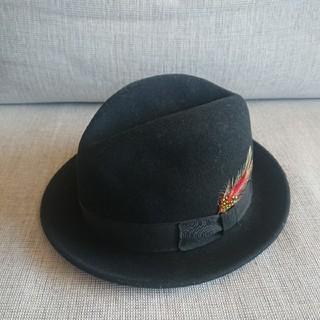 Borsalino - 最高級 Bailey(ベイリー) ウール フエルト 中折れハット 帽子