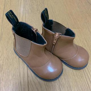 プティマイン(petit main)のプティマイン 革ブーツ 14cm(ブーツ)