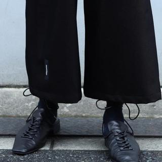 サンシー(SUNSEA)のSYU.HOMME/FEMM Sneakmule(Black)新品未使用(ドレス/ビジネス)