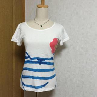ツモリチサト(TSUMORI CHISATO)のCAT's 猫 Tシャツ ツモリチサト カットソー(Tシャツ(半袖/袖なし))