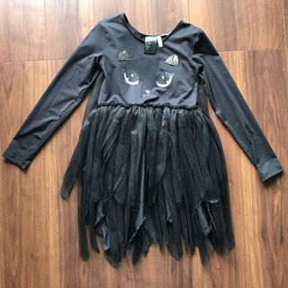 エイチアンドエム(H&M)のキッズ ハロウィン 仮装用 ドレス(衣装一式)