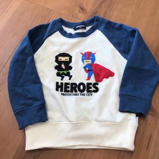 クレードスコープ(kladskap)の中古 クレードスコープ ヒーロー トレーナー 100(Tシャツ/カットソー)