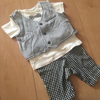 コムサイズム(COMME CA ISM)のコムサ 80 男の子(Tシャツ)
