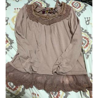 アクシーズファム(axes femme)のaxes kids 110サイズ 長袖T  淡いピンク(Tシャツ/カットソー)