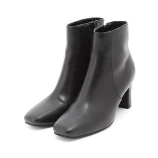 ナチュラルビューティーベーシック(NATURAL BEAUTY BASIC)の【値下げ可能】NATURAL BEAUTY BASIC スクエアショートブーツ(ブーツ)