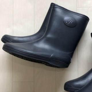 ファミリア(familiar)のご専用 ファミリア レインブーツ 長靴 18㎝ ネイビー 濃紺 お受験(長靴/レインシューズ)