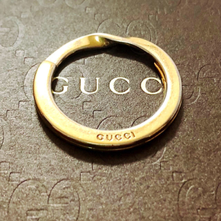 グッチ(Gucci)のGUCCI 刻印入り キーリング(キーホルダー)