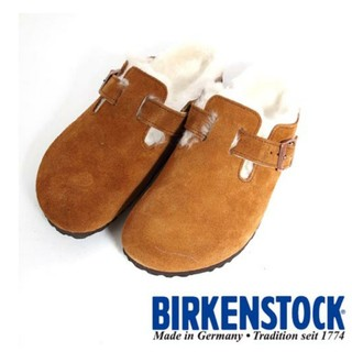 ビルケンシュトック(BIRKENSTOCK)のビルケンシュトック BIRKENSTOCK ボストン サボ ファーサンダル ボア(サンダル)