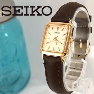 セイコー(SEIKO)の7 セイコー時計 レディース腕時計 新品ベルト 新品電池 美品(腕時計)