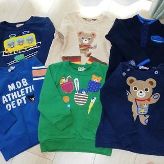 ミキハウス(mikihouse)のミキハウス シャツ 100 セット(Tシャツ/カットソー)