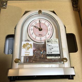 セイコー(SEIKO)の新品 ディズニー 置時計 FS201W(置時計)