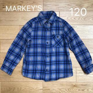 MARKEY'S - 【MARKEY'S マーキーズ】長袖 ネルシャツ  120