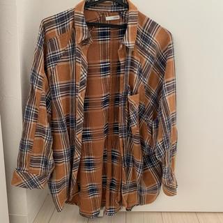 ジェイダ(GYDA)のGYDA モモンガチェックシャツ(シャツ)