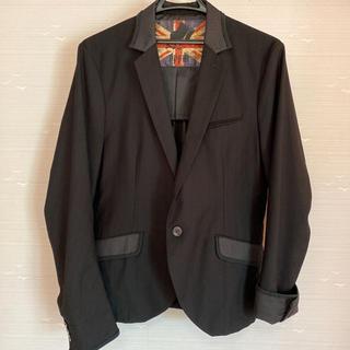 ピーピーエフエム(PPFM)の美品 PPFM クリーニング済 テーラードジャケット 薄手ジャケット(テーラードジャケット)
