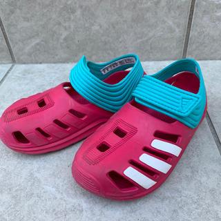 アディダス(adidas)の美品 アディダス サンダル 16(サンダル)