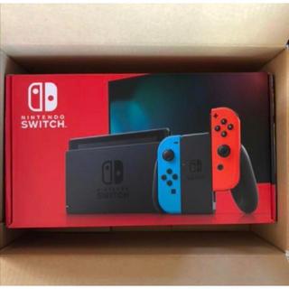 ニンテンドースイッチ(Nintendo Switch)の【新品】新型Nintendo Switch 本体  ネオンカラー(家庭用ゲーム機本体)