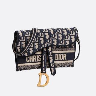 クリスチャンディオール(Christian Dior)の新作💓Dior サドル スリムポーチ(ショルダーバッグ)