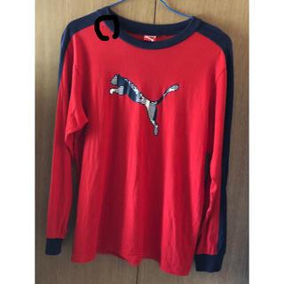 プーマ(PUMA)のkids PUMA長Tシャツ160cm (Tシャツ/カットソー)