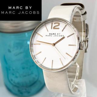 マークバイマークジェイコブス(MARC BY MARC JACOBS)の45 マークバイマークジェイコブス時計 レディース腕時計 新品電池(腕時計)