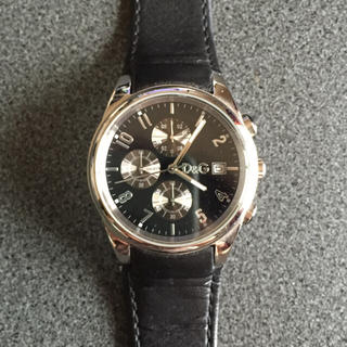 ドルチェアンドガッバーナ(DOLCE&GABBANA)のD&G 時計(レザーベルト)