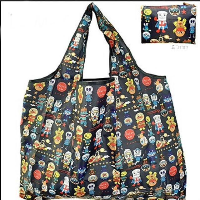アンパンマン(アンパンマン)のアンパンマン エコバッグ 折りたたみ コンパクト レディースのバッグ(エコバッグ)の商品写真