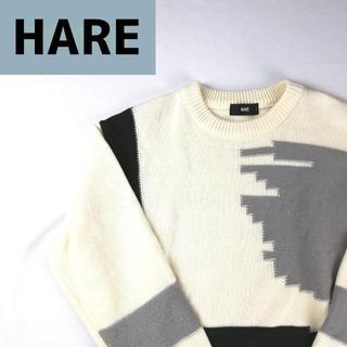 ハレ(HARE)のHARE ハレ 立体構築 厚手ニット(ニット/セーター)