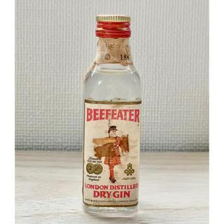 サントリー(サントリー)の古酒 ジン BEEFEATER ビーフィーター ジン 47ml 1867年製?(蒸留酒/スピリッツ)