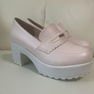 リズリサ(LIZ LISA)のリズリサ 厚底シューズ(ローファー/革靴)