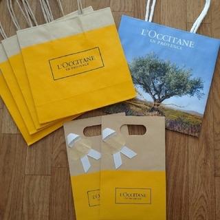 ロクシタン(L'OCCITANE)の【L'OCCITANE】ショップ袋set(ショップ袋)