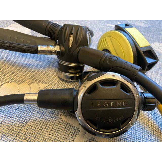Aqua Lung(アクアラング)のAQUA LUNG アクアラング レギュレーター レジェンド ダイビング器材 スポーツ/アウトドアのスポーツ/アウトドア その他(マリン/スイミング)の商品写真