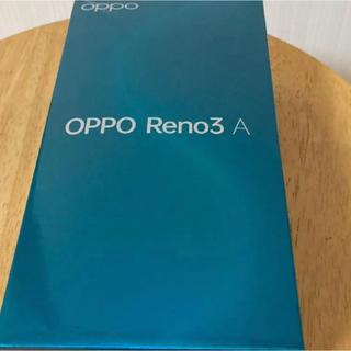アンドロイド(ANDROID)のOPPO Reno3A black CPH2013BK(スマートフォン本体)