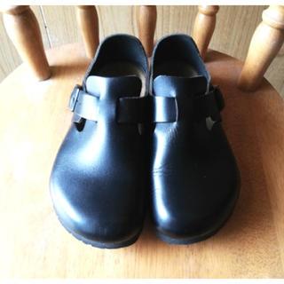 ビルケンシュトック(BIRKENSTOCK)のビルケンシュトック ロンドン  37 ブラック(ローファー/革靴)