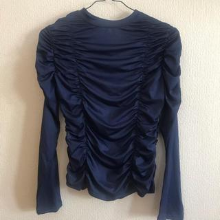 スタイルナンダ(STYLENANDA)のシャーリング ギャザー Tシャツ(Tシャツ(長袖/七分))