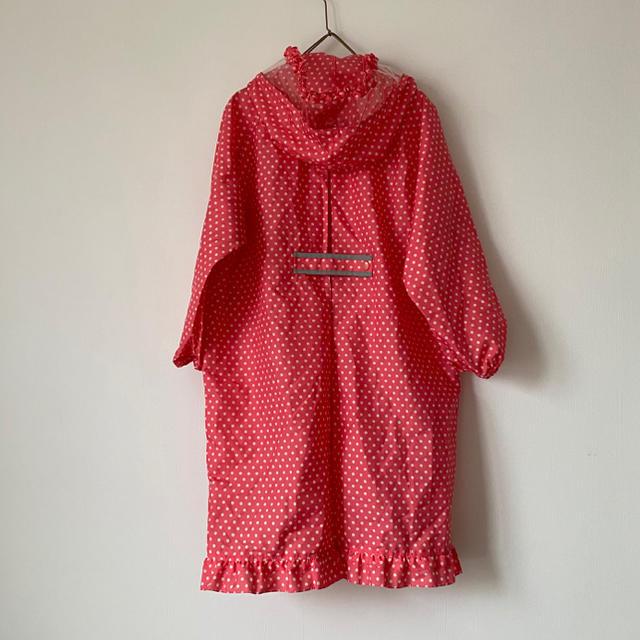 Orange bonbon(オレンジボンボン)のレインコート 120cm キッズ/ベビー/マタニティのこども用ファッション小物(レインコート)の商品写真