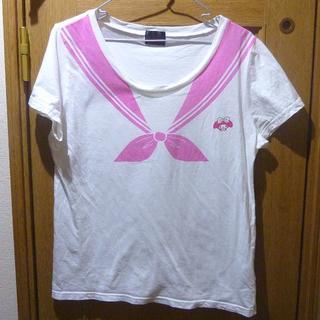 サンリオ - サンリオ マイメロディのTシャツ サイズLL <b462>