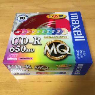 マクセル(maxell)の未使用 新品 maxell CDR650.MIX1P10S(PC周辺機器)