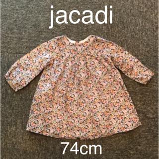 ジャカディ(Jacadi)のjacadi ジャカディ 小花柄ワンピース 74cm(ワンピース)
