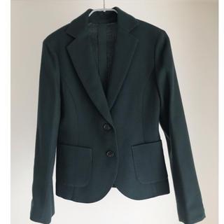 イヴォン(YVON)のジャケット ダークグリーン(テーラードジャケット)