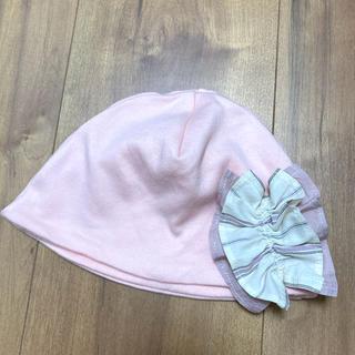 イセタン(伊勢丹)の伊勢丹 ベビー 帽子 44センチ 女の子(帽子)