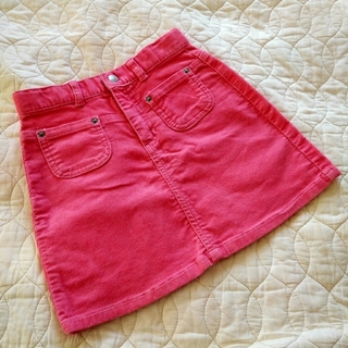 ベビーギャップ(babyGAP)の女の子 ベビーギャップ ピンク キラキラ スカート 110(スカート)