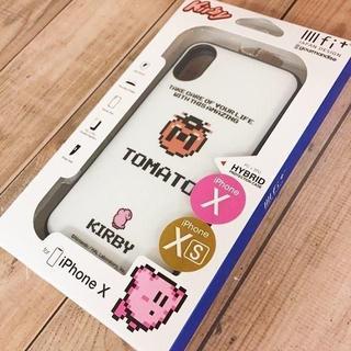 ニンテンドウ(任天堂)の星のカービィ iPhoneX/Xs 兼用 イーフィット スマホケース(iPhoneケース)