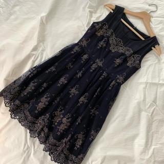 アーバンリサーチロッソ(URBAN RESEARCH ROSSO)のkaene ワンピース ドレス(ひざ丈ワンピース)
