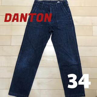 ダントン(DANTON)のDANTON ダントン☆34サイズ☆ハイウエストストレートデニム(デニム/ジーンズ)