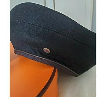 エルメス(Hermes)の2019年 エルメス ベレー帽 ブラック(ハンチング/ベレー帽)